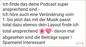 podcast feedback 2